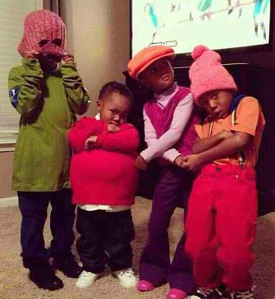 Fat Albert ~ 30 Great Halloween Costumes for Kids
