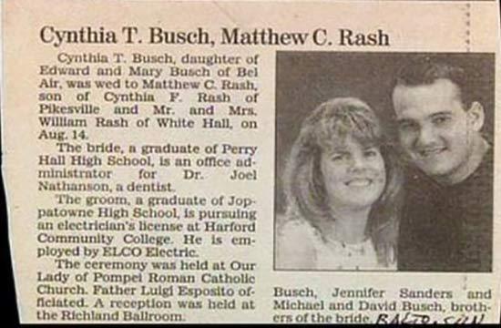 Bush - Rash? ~ 15 Funny Wedding Photos ~ ~