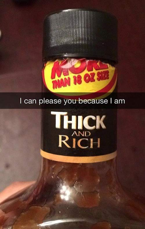 ~ 30 Funny, Clever Snapchats You Wish You Had Sent ~