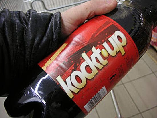 Kokt Up Soda Pop ~ 27 Inappropriate, Funny Product Names