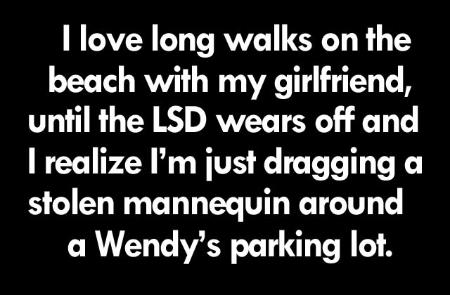 Long Walks With Girlfriend ~ 16 Funny Pics & Memes