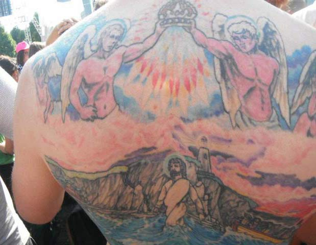 Jesus on Back ~ 14 of the Worst Bad Tattoos