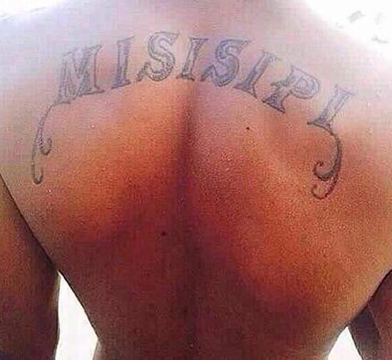Misspelled Mississippi ~ 15 of the Worst Bad Tattoos
