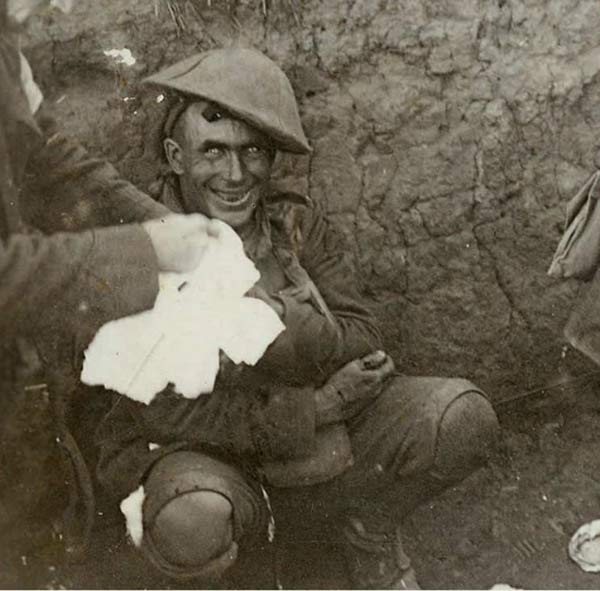 Shell Shocked WW I Soldier ~ 25 Creepy Photos