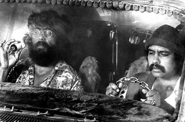 Cheech & Chong Up in Smoke 1970s Custom Van