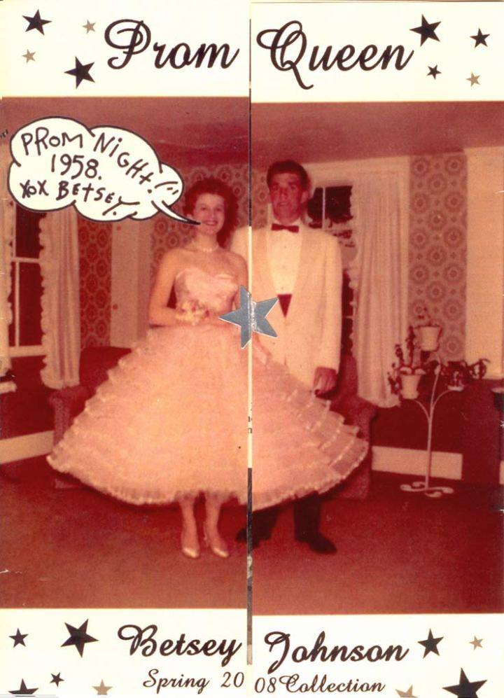 40 celebrity prom pictures ~ Betsey Johnson