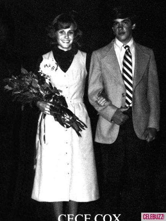 40 celebrity prom pictures ~ Courntey Cox