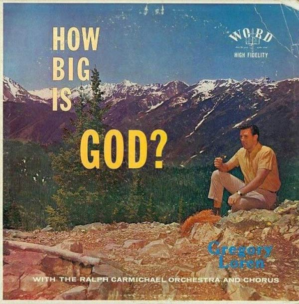 How Big is God ~ Album Cover Art ! The Bad, The Funny The Worst