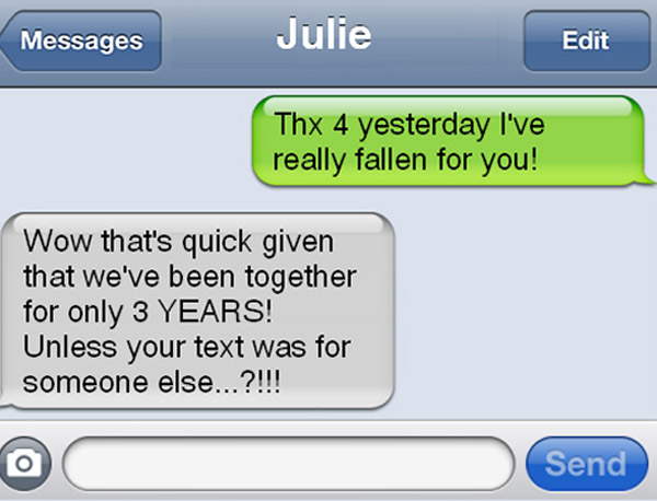 Funny Break Up Texts & Hilarious Comebacks