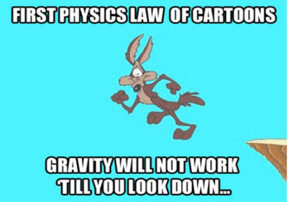 32 examples of cartoon logic that makes perfectly no sense team