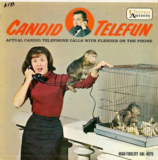 Candid Telefun ~ Funny, Creepy Bad Album Cover Art