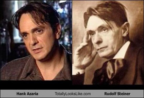 Celebrities that look like Historical Figures ~ Hank Azaria Rudolf Steiner