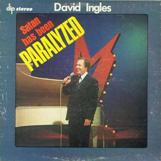 David Igles Satan is Paralyzed ~ Funny, Creepy Bad Album Cover Art