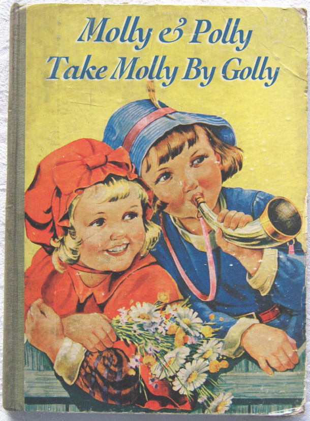 Molly & Polly Take Molly By Golly ~ inappropriately bad children's book covers