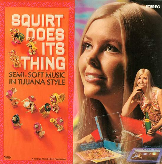 Squirt Soda Does It's Thing Semi Soft ~ Funny, Bad Album Cover Art