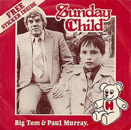 Sunday Childm Tom Paul & Paul Murray ~ Funny, Creepy Bad Album Cover Art
