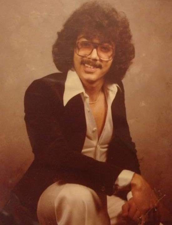 Classic 1970s Olan Mills Portrait of Manly stud with bad hair