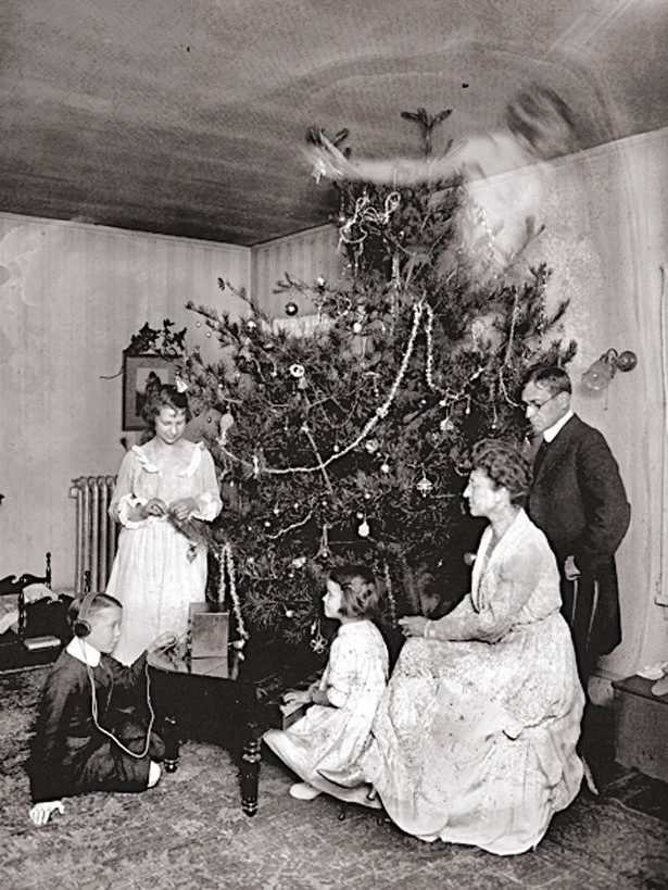 Vintage Creepy Old Photos Christmas Ghost