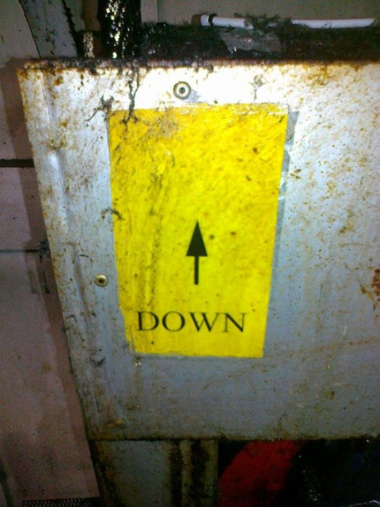 You Had One Job Fails ~ down pointing up