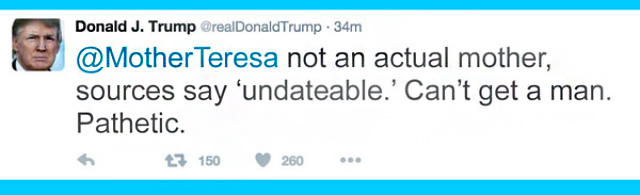 If Donald Trump tweeted on Twitter throughout history. Funny tweets from Donald Trump.