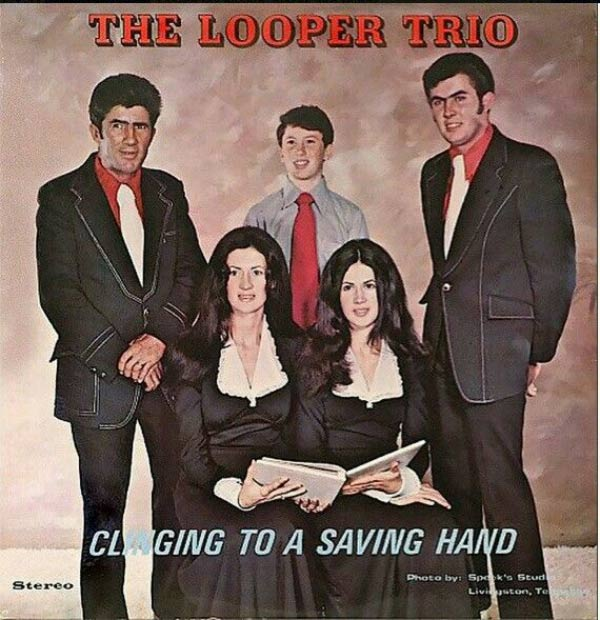 20 of the Worst Bad Album Covers~ The Looper Trio, Clinging to saving hand
