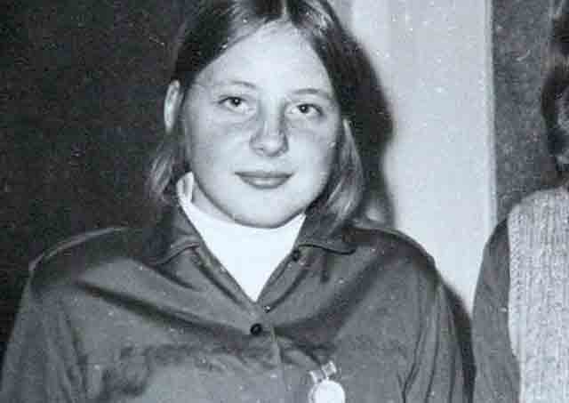 Young Angela Merkel, Chancellor of Germany