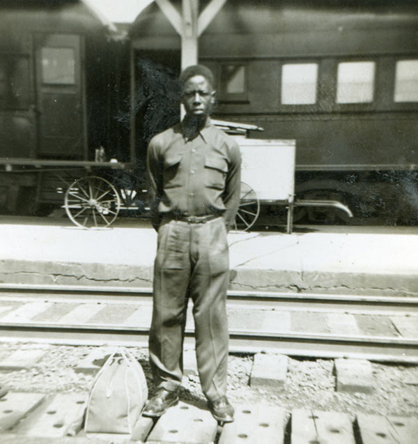 Young Hank Aaron around 19-years old circa 1953