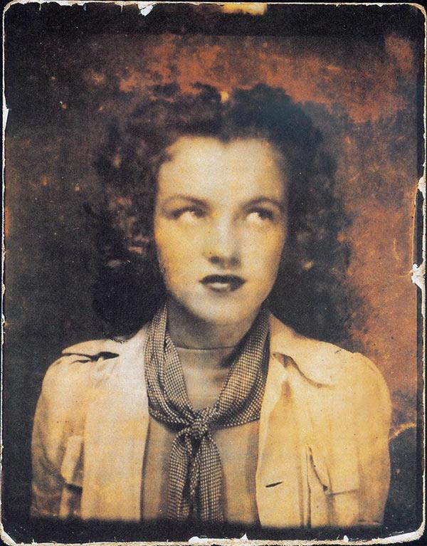 Marilyn Monroe, 12-years-old