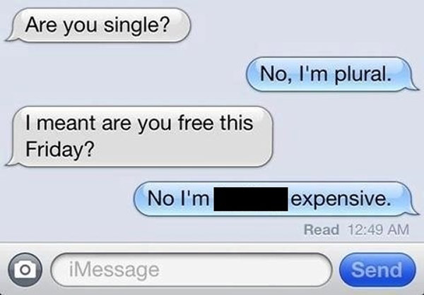 Funny flirty messages
