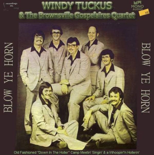 Windy Tuckus Gospel Quartet Blow Ye Horn ~ The Worst Bad Classic Album Cover Art