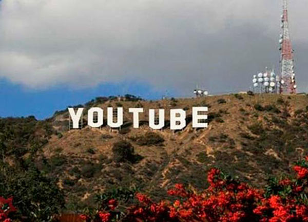 33 Funny Pics~ youtube hollywood sign