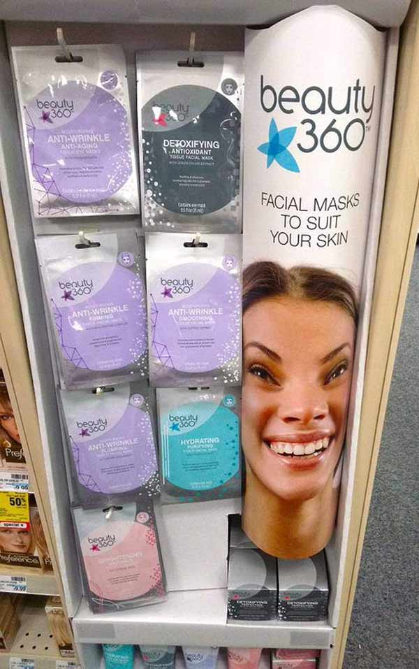 Funny Pics ~ 37 Outrageous Images ~ creepy facial mask display