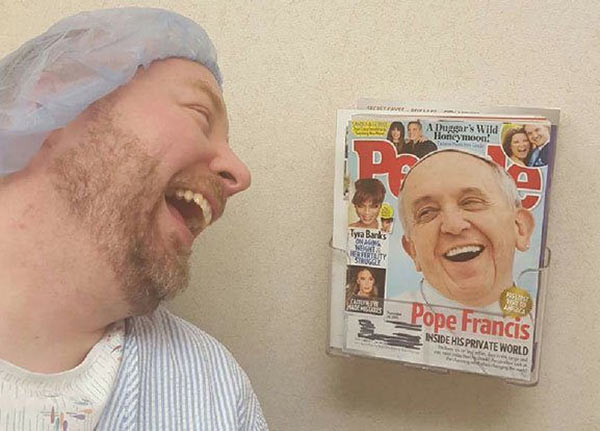 Funny Pics ~ 37 Outrageous Images ~ Pope magazine cover