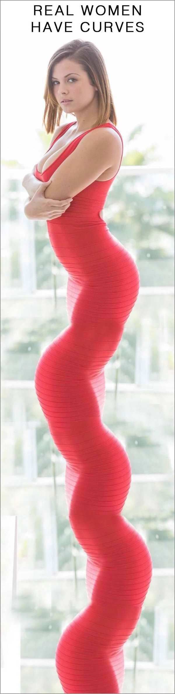 33 Funny Pictures ~ real women have curves