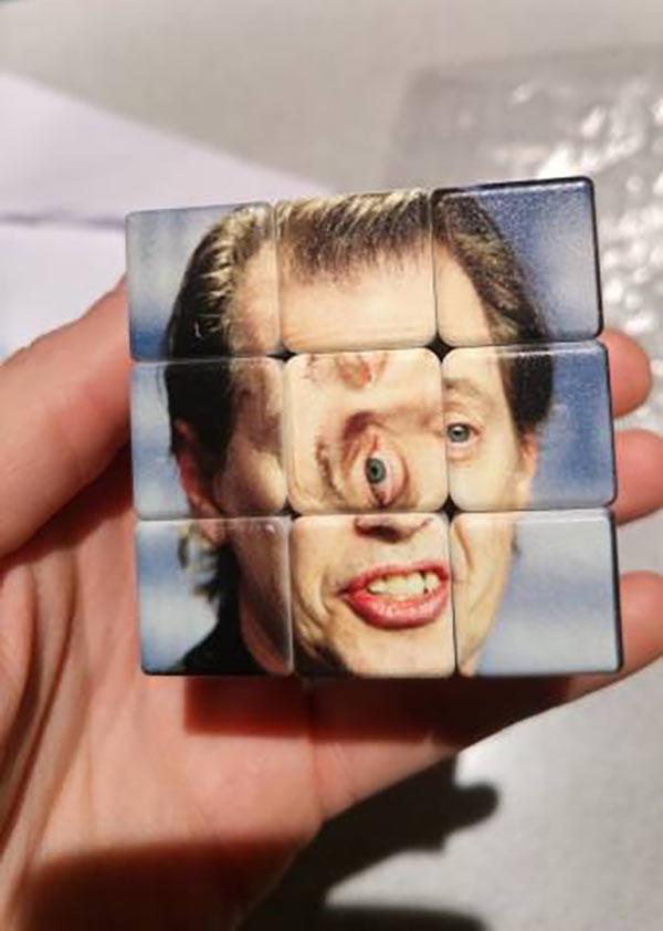Funny Pics & Memes ~ Steve Buscemi Rubriks Cube