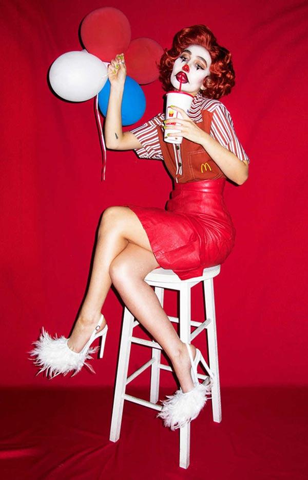 Funny Pics & Memes ~ Nadia Lee Cohen photo, Ronald McDonald Woman
