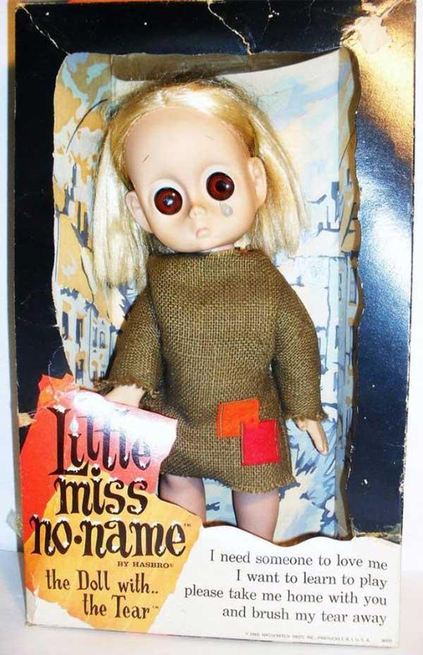 Funny Pics, Cool Stuff ~ vintage creepy Little Miss No Name doll