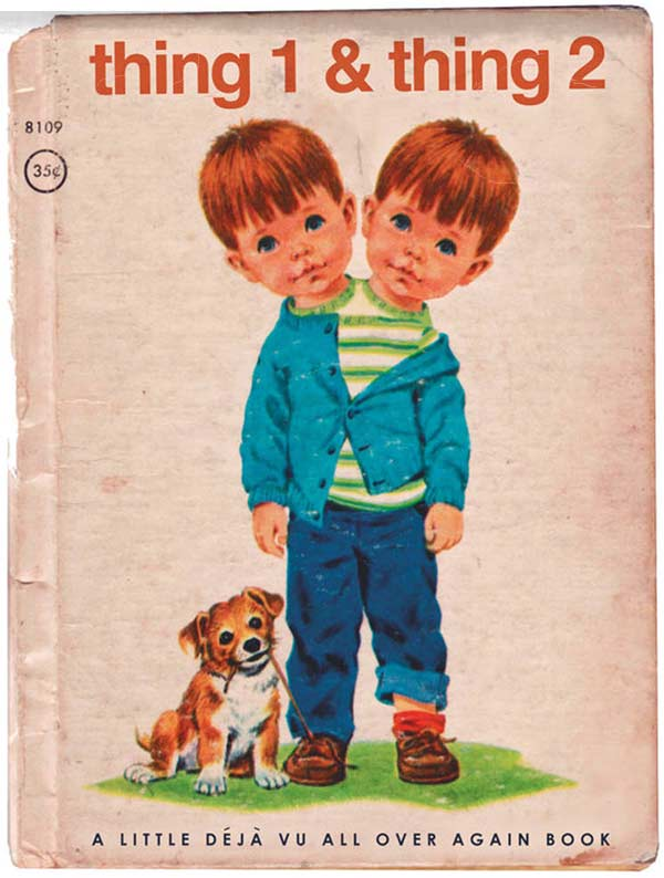 17 Inappropriate Classic Children's Books ~ thing 1 & thing 2
