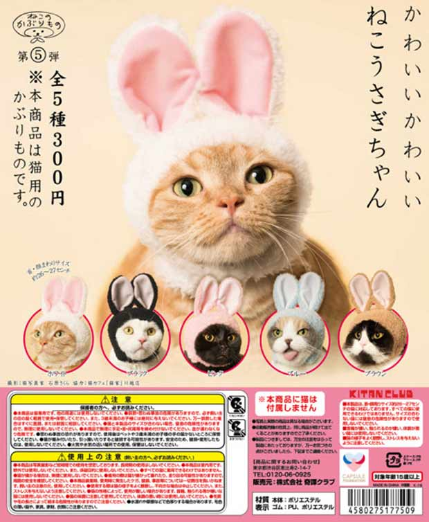 33 Funny Pics ~ funny japanese magazine ad cat with bunny ears