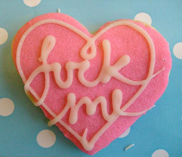 35 Funny Pics ~ Valentines f-me cookie