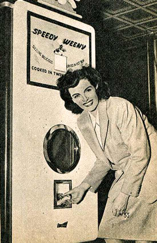 35 Funny Pics ~ vintage ad, speedy weeny