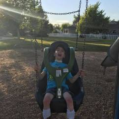 Swing Chair For 5 Year Old Intex Pull Out Inflatable Bed Twin The Kenadi Jean Weis Foundation Making World A Better Place How Much Do You Love Our New Molded Bucket Seat 2 Olds Recently Installed At Brady Park Thank Everyone Who Supports Vision Of