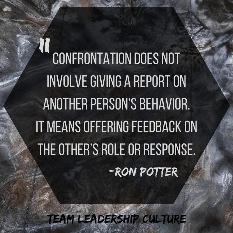 Confrontation Quote