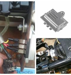 details about 12v voltage regulator rectifier for onan engines onan engines p216 p218 p220 [ 1300 x 1300 Pixel ]