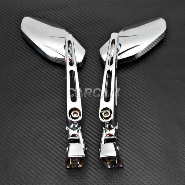 Chrome Rearview Mirrors Suzuki Gsx Gsxr 600 750 1000