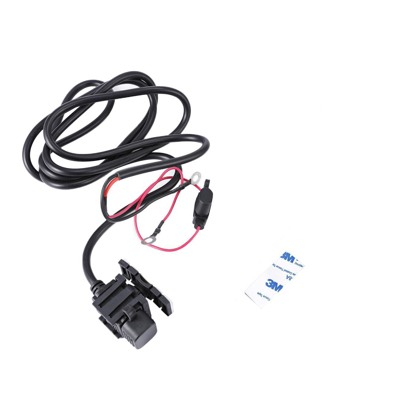 Waterproof Car Motorcycle SAE to USB Phone GPS Charger