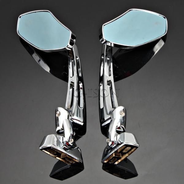 Motorcycle Chrome Rearview Mirrors Suzuki Gsxr 600 750