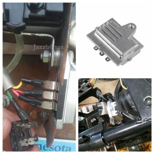 small resolution of details about 12v voltage regulator rectifier for john deere tractor 318 420 onan engines