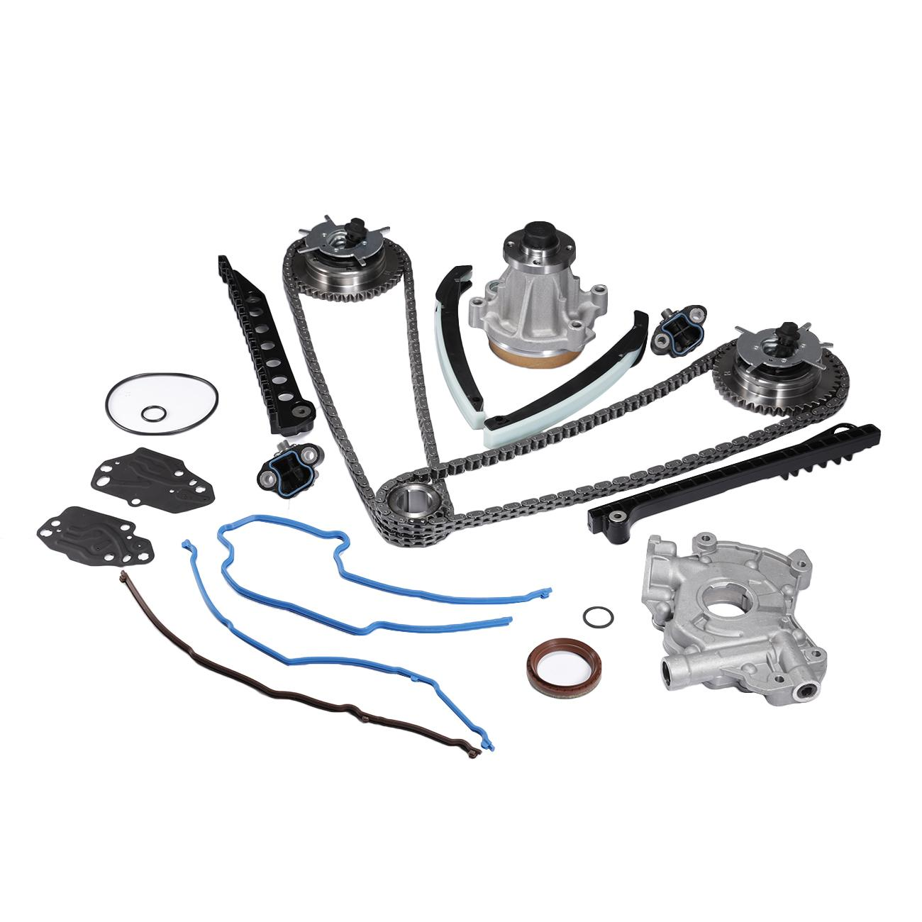 Fit 04 08 Ford 5 4 Triton 3 Valve Timing Chain Kit Cam