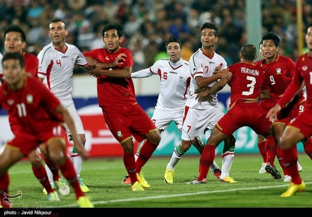 Hosseini , Nekounam and Shojaei among Thail players